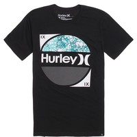 Hurley Three Quarter Premium T-Shirt - Mens Tee - Black