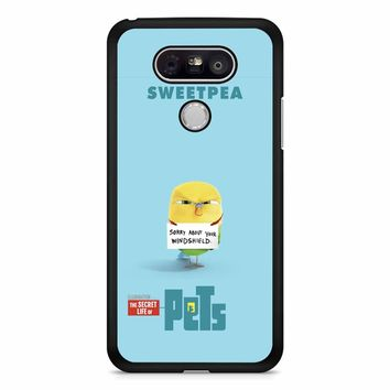 The Secret Life Of Pets Sweetpea Poster LG G5 Case