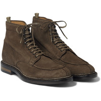 Officine Creative - Lace-Up Suede Boots | MR PORTER