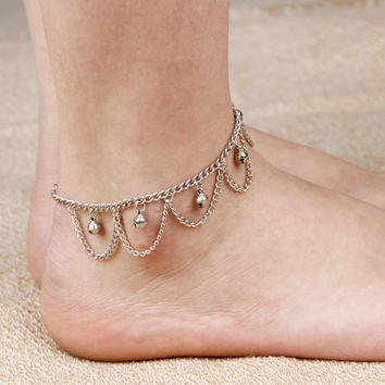 Stylish Gift New Arrival Cute Ladies Jewelry Shiny Sexy Accessory Vintage Tassels Chain Anklet [4918824708]