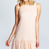 Lizzie Lace Drop Waist Dress