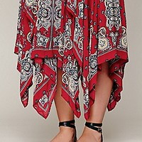 Free People  Printed Fly Away Skirt at Free People Clothing Boutique