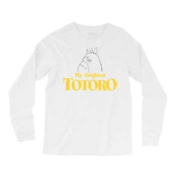 My Neighbor Totoro Long Sleeve Shirts