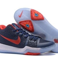 Nike Kyrie Irving 3 Navy/Red Basketball Shoe 40-46
