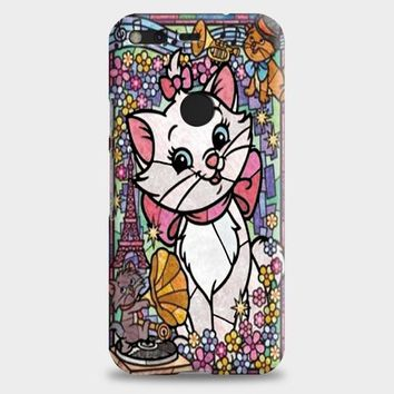 Marie Cat DisneyS The Aristocats Stained Glass Google Pixel XL 2 Case | casescraft