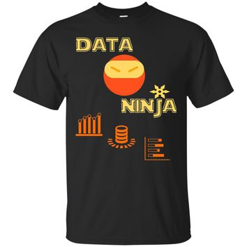 Data Ninja - Data T-Shirt for Analysts, Scientists,Engineers