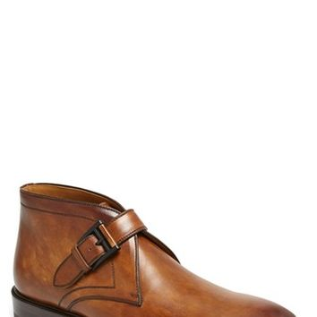 Men's Magnanni 'Raiden' Monk Strap Chukka Boot ,