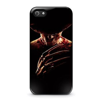 freddy krueger 2 iphone 5 5s se case cover  number 2