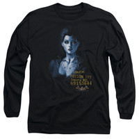 BATMAN AA/ARKHAM POISON IVY - L/S ADULT 18/1 - BLACK -