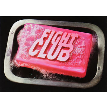 Fight Club - Soap Postcard