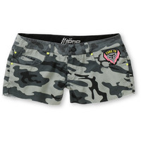 Fox Girls Special Ops Hydro Camo Print Board Shorts