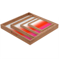 Natalie Baca Under The Sun Ombre Square Tray