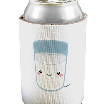 Cute Matching Milk and Cookie Design - Milk Can / Bottle Insulator Coolers by TooLoud