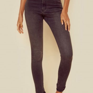 HIGH SNAP DENIM JEAN