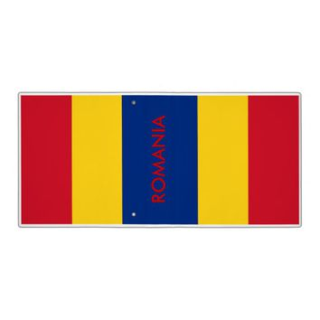 Binder with Flag of Romania