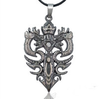 Gift Stylish Jewelry Shiny New Arrival Accessory Titanium Men Stainless Steel Totem Hot Sale Necklace [6526587971]
