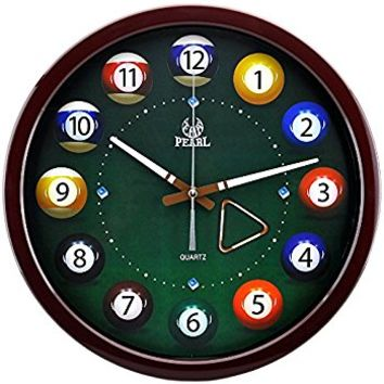Lighted Billiards Clock Profile