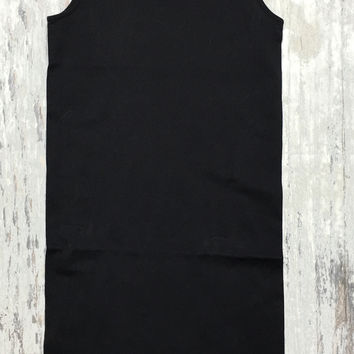 BACHELORETTE TANK BODYCON DRESS IN BLACK