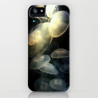 Jellyfish Darkness to Light iPhone Case by RichCaspian | Society6