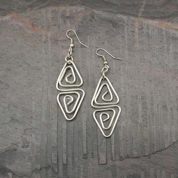 Silver Plated Earring