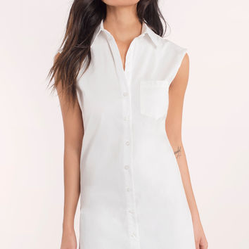 Teri Buttoned Up Shirt Dress