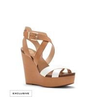 VINCE CAMUTO KRISTY- STRAPPY WEDGE SANDAL