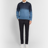 Jil Sander - Slim-Fit Wool and Cashmere-Blend Trousers | MR PORTER