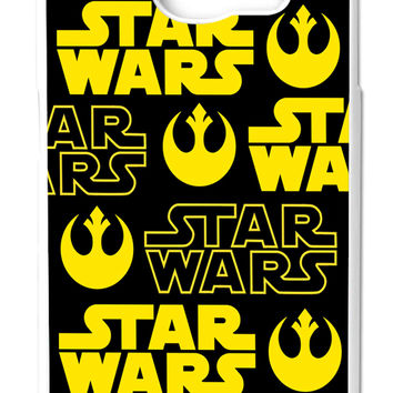 Star Wars Rebel Logo Samsung Galaxy S6 Cases - Hard Plastic, Rubber Case