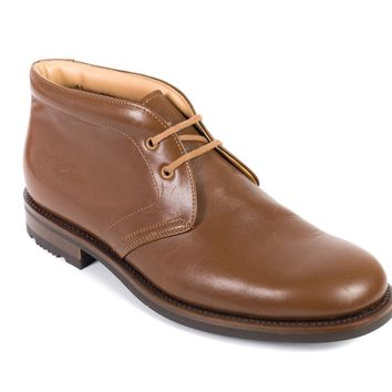 Church's Caramel Leather Ankle Desert Boots