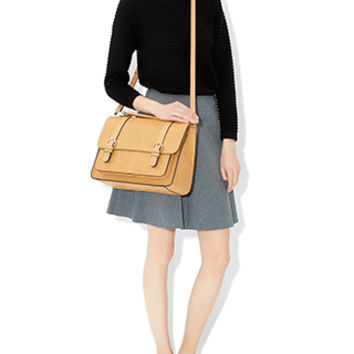 Oxford Satchel Bag | Brown | Accessorize