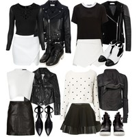 Requested: B&W party outfits
