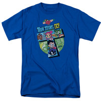 Teen Titans Go! T Collage Mens T-Shirt