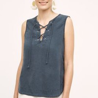 Cloth & Stone Pema Tank in Slate Size: