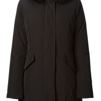 Woolrich fox fur trimmed parka