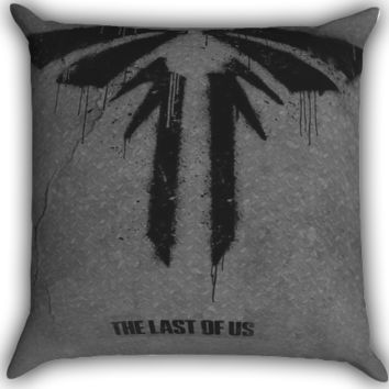 The Last of Us Zippered Pillows  Covers 16x16, 18x18, 20x20 Inches