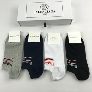 Balenciaga Fashion 4 pics of set Sock Style #162