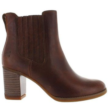 CREYONIG Timberland Earthkeepers Atlantic Heights Gore - Brown Leather Chelsea Boot