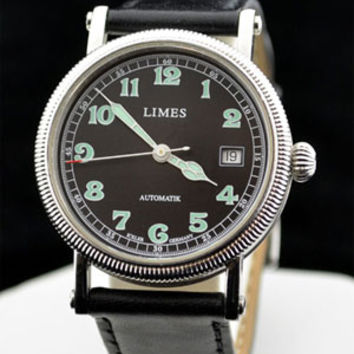 Limes Vintage 1924 Night Flight Automatic Watch