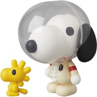 Medicom x A Bathing Ape x Peanuts VCD Baby Milo Snoopy And Woodstock Figure