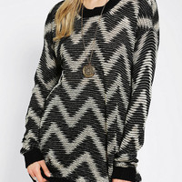 Sparkle & Fade Chevron Tunic Sweater