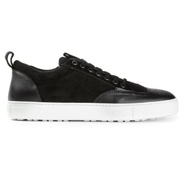 DSQUARED2 perforated detail sneakers
