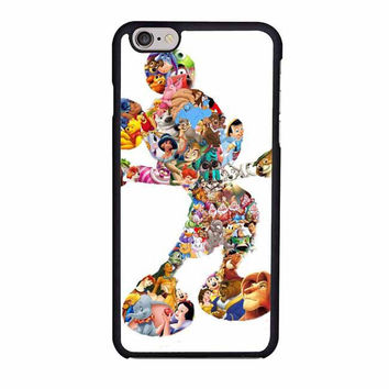 mickey mouse silhouette iphone 6 6s 4 4s 5 5s 5c cases