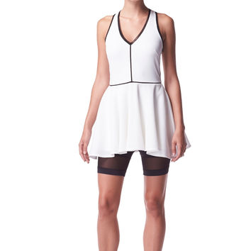 Michi Court Tennis Dress - Ivory