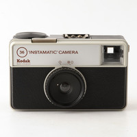 Kodak Instamatic 36 126 Film Camera Working Shutter with Case
