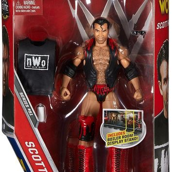 WWE Scott Hall Action Figure Elite 51 Mattel Toy NEW