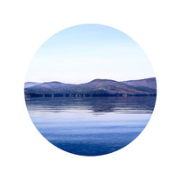 Lake photography Blue mountains Reflex Water Landscape photography 10x10""