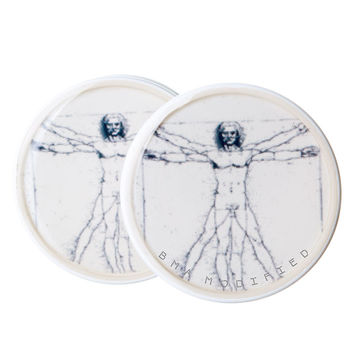 Da Vinci Vitruvian Man BMA Plugs (6mm-60mm)