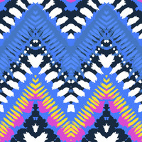 Hippie Chevron Removable Wallpaper Decal