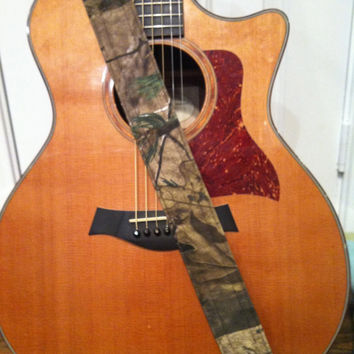 Guitar Strap - Handmade - Real Tree Camo
