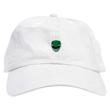 Power Rangers Green Dad Hat